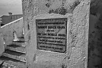 Commemoration Plaque of the Obamas' Visit
