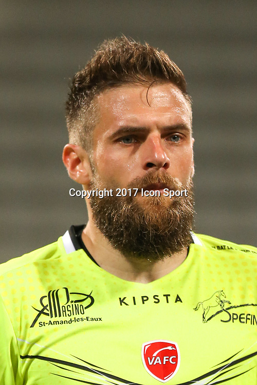 Cyrille Merville during the Ligue 2 match between Paris Fc and Valenciennes at Stade Charlety on October 20, 2017 in Paris, France. (Photo by Anthony Massardi/Icon Sport )