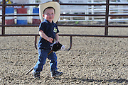 Children, Stick Horse Race, Salmon, Idaho, Happy, fun, smile, boy, girl, rodeo