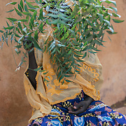 Sadio (51) cured of Fistula which she got through hysterectomy. Kayes, Mali.