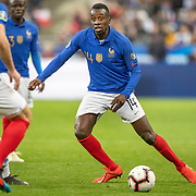 PARIS, FRANCE - March 25: Blaise Matuidi #14 of France in action during the France V Iceland, 2020 European Championship Qualifying, Group Stage at  Stade de France on March 25th 2019 in Paris, France (Photo by Tim Clayton/Corbis via Getty Images)