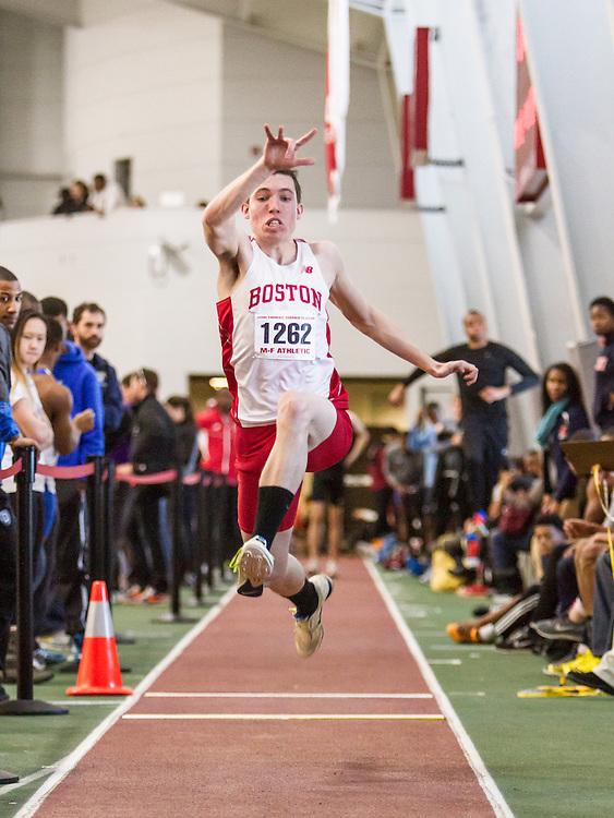 Boston University John Terrier Classic Indoor Track & Field: mens triple jump, BU