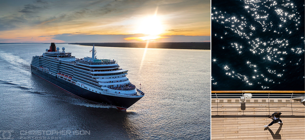 Cunard&rsquo;s luxury cruise ship, Queen Victoria, makes her maiden voyage up the Amazon River, and becomes the largest passenger ship to sail the Amazon into Manaus, Brazil. Manaus marks the sixth out of 32 ports on Queen Victoria&rsquo;s 41,000 nautical mile, 120-night World Voyage. <br /> Picture date Wednesday 25th January, 2017.<br /> Picture by Christopher Ison. Contact +447544 044177 chris@christopherison.com
