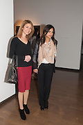 ANGELA HOMSI; SARA GAMAY, Mariko Mori opening, Royal Academy Burlington Gardens Gallery. London. 11 December 2012.