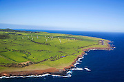 Windmills, North Kohala, Big Island of Hawaii