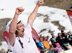 Filip Flisar, winner of crystal globe 2012 in ski cross during Luza Petrol 007 on ski resort RTC Krvavec, 31.3.2012, Cerklje na Gorenjskem, ski resort RTC Krvavec, Slovenia