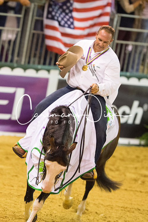Shawn Flarida, (USA), Spooks Gotta Whiz - Individual Final Comptetition - Alltech FEI World Equestrian Games™ 2014 - Normandy, France.<br /> © Hippo Foto Team - Jon Stroud<br /> 30-08-14
