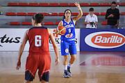 DESCRIZIONE : Roma Amichevole Nazionale Femminile Italia USA<br /> GIOCATORE : Francesca Dotto<br /> CATEGORIA : palleggio schema<br /> SQUADRA : Italia<br /> EVENTO : Amichevole Nazionale Italiana Femminile<br /> GARA : Italia USA<br /> DATA : 08/10/2015<br /> SPORT : Pallacanestro <br /> AUTORE : Agenzia Ciamillo-Castoria/G.Masi<br /> Galleria : Nazionale<br /> Fotonotizia : Roma Nazionale Femminile Amichevole Italia USA