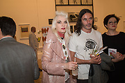 LAURENCE PASSERA, PAM HOGG, Royal Academy Summer Exhibition party. Burlington House. Piccadilly. London. 6 June 2018