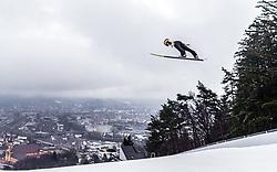 22.02.2019, Bergiselschanze, Innsbruck, AUT, FIS Weltmeisterschaften Ski Nordisch, Seefeld 2019, Skisprung, Herren, im Bild Stefan Kraft (AUT) // Stefan Kraft of Austria during the men's Skijumping of FIS Nordic Ski World Championships 2019. Bergiselschanze in Innsbruck, Austria on 2019/02/22. EXPA Pictures © 2019, PhotoCredit: EXPA/ JFK