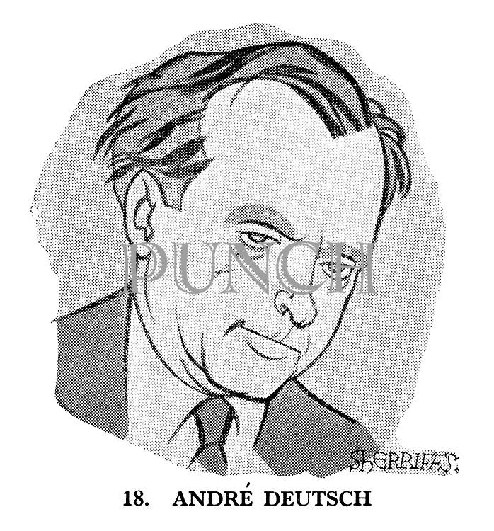 These Looks Speak Volumes 18. Andre Deutsch.