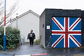 Unionist UDA Fountain Londonderry Northern Ireland UK Brexitland