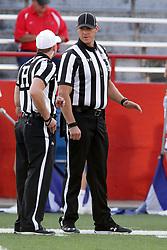 02 September 2017:   Matt Packowski & Paul Janus during the Butler Bulldogs at  Illinois State Redbirds Football game at Hancock Stadium in Normal IL (Photo by Alan Look)