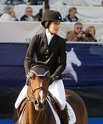 23.09.2012, Rathausplatz, Wien, AUT, Global Champions Tour, Vienna Masters, Grosser Preis, im Bild Jessica Springsteen (USA) auf Wish// during Vienna Masters of Global Champions Tour, Grand Prix at the Rathausplatz, Vienna, Austria on 2012/09/23. EXPA Pictures © 2012, PhotoCredit: EXPA/ Sebastian Pucher