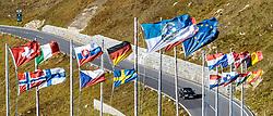 THEMENBILD - ein Auto und Flaggen verschiedener Nationen. Die Grossglockner Hochalpenstrasse verbindet die beiden Bundeslaender Salzburg und Kaernten mit einer Laenge von 48 Kilometer und ist als Erlebnisstrasse vorrangig von touristischer Bedeutung, aufgenommen am 15. September 2016, Bruck a. d. Glocknerstrasse, Oesterreich // a car and flags of different nations. The Grossglockner High Alpine Road connects the two provinces of Salzburg and Carinthia with a length of 48 km and is as an adventure road priority of tourist interest at Bruck a. d. Glocknerstrasse, Austria on 2016/09/15. EXPA Pictures © 2016, PhotoCredit: EXPA/ JFK