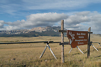 Sun River Wildlife Management Area near Augusta Montana