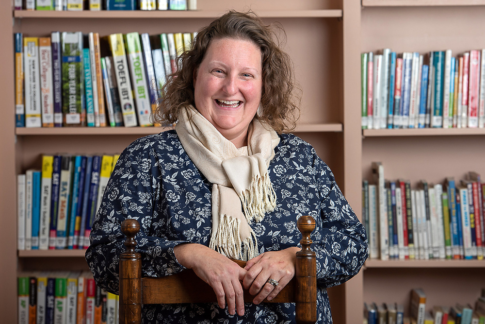 Photography ©Mara Lavitt<br /> December 11, 2018<br /> Lucy Robbins Welles Library, Newington, CT<br /> <br /> TEACH Connecticut ambassador Megan Konikowski.