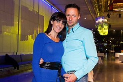 Alenka Bikar and her husband Marjan Kern at Slovenian Sports personality of the year 2013 annual awards presented on the base of Slovenian sports reporters, on December 19, 2013 in Cankarjev dom, Ljubljana, Slovenia.  Photo by Vid Ponikvar / Sportida