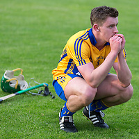 An emotional David Conroy at the final whistle