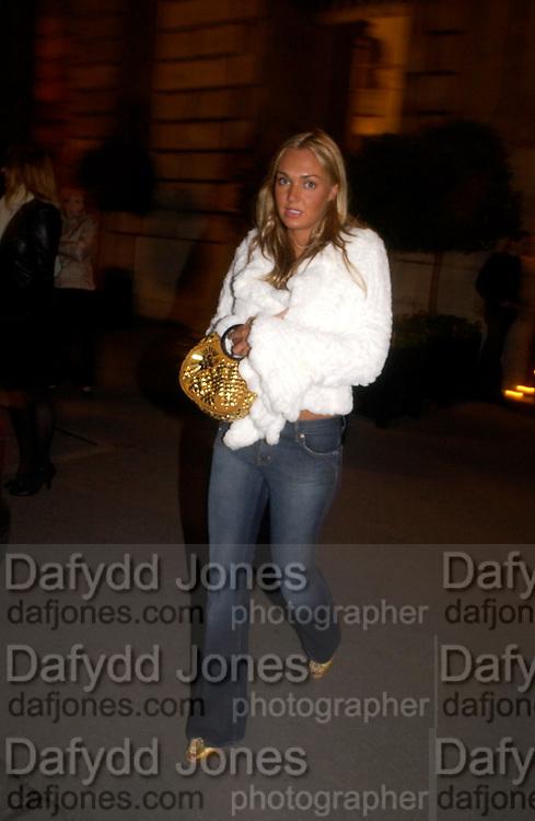 Tamara  Ecclestone, Crillon 2004 Debutante Ball. Crillon Hotel. Paris. 26 November 2004. ONE TIME USE ONLY - DO NOT ARCHIVE  © Copyright Photograph by Dafydd Jones 66 Stockwell Park Rd. London SW9 0DA Tel 020 7733 0108 www.dafjones.com