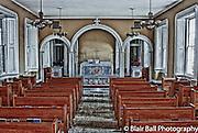 Vicksburg abandoned chapel in downtown Vicksburg Mississippi.