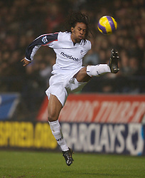 Bolton, England - Wednesday, January 31, 2007: Bolton Wanderers' Ricardo Gardner in action against Charlton Athletic during the Premiership match at the Reebok Stadium. (Pic by David Rawcliffe/Propaganda)