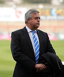 Bristol Rovers chairman , Nick Higgs - Mandatory byline: Neil Brookman/JMP - 07966 386802 - 03/10/2015 - FOOTBALL - Globe Arena - Morecambe, England - Morecambe FC v Bristol Rovers - Sky Bet League Two