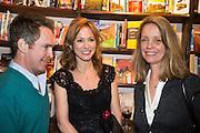 TOM HOLLANDER; ALLIE ESIRI; SABRINA GUINNESS, Allie Esiri's The Love Book launch party , Daunt Books <br /> 83 Marylebone High Street, London. 5 February 2014