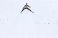 Kombinert, ,16.JAN.14 - SKI NORDISCH, NORDISCHE KOMBINATION, SKISPRINGEN- FIS Weltcup Nordic Triple, Training.   Jan Schmid (NOR)<br /> <br /> Norway only
