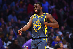 November 12, 2018 - Los Angeles, CA, U.S. - LOS ANGELES, CA - NOVEMBER 12: Golden State Warriors Forward Draymond Green (23) smiles during a NBA game between the Golden State Warriors and the Los Angeles Clippers on November 12, 2018 at STAPLES Center in Los Angeles, CA. (Photo by Brian Rothmuller/Icon Sportswire) (Credit Image: © Brian Rothmuller/Icon SMI via ZUMA Press)