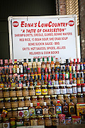 Local products on sale at the newly restored Charleston City Market May 20, 2011 in Charleston, SC.