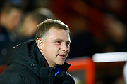 Coventry's manager Mark Robins during the EFL Sky Bet League 2 match between Stevenage and Coventry City at the Lamex Stadium, Stevenage, England on 21 November 2017. Photo by Matt Bristow.