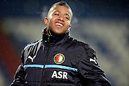 Onderwerp/Subject: Feyenoord - Eredivisie<br /> Reklame:  <br /> Club/Team/Country: <br /> Seizoen/Season: 2012/2013<br /> FOTO/PHOTO: Tonny TRINDADE DE VILHENA of Feyenoord celebrating after the match ( 1 - 3 ). (Photo by PICS UNITED)<br /> <br /> Trefwoorden/Keywords: <br /> #02 $94 &plusmn;1354627667242<br /> Photo- &amp; Copyrights &copy; PICS UNITED <br /> P.O. Box 7164 - 5605 BE  EINDHOVEN (THE NETHERLANDS) <br /> Phone +31 (0)40 296 28 00 <br /> Fax +31 (0) 40 248 47 43 <br /> http://www.pics-united.com <br /> e-mail : sales@pics-united.com (If you would like to raise any issues regarding any aspects of products / service of PICS UNITED) or <br /> e-mail : sales@pics-united.com   <br /> <br /> ATTENTIE: <br /> Publicatie ook bij aanbieding door derden is slechts toegestaan na verkregen toestemming van Pics United. <br /> VOLLEDIGE NAAMSVERMELDING IS VERPLICHT! (&copy; PICS UNITED/Naam Fotograaf, zie veld 4 van de bestandsinfo 'credits') <br /> ATTENTION:  <br /> &copy; Pics United. Reproduction/publication of this photo by any parties is only permitted after authorisation is sought and obtained from  PICS UNITED- THE NETHERLANDS