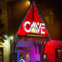 The Cave concert venue in Big Bear Lake, Friday, March, 10, 2017. Big Bear entrepreneur David Stone is the owner of The Cave, Big Bear Lake Brewing Company and the soon to open Black Kat restaurant. (Eric Reed/For The Sun/SCNG)