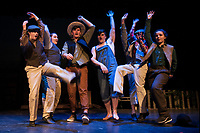 "Streetcar Company dress rehearsal for ""Big River - the Adventures of Huckleberry Finn"" at the Inter Lakes community auditorium.  Karen Bobotas for the Laconia Daily Sun"