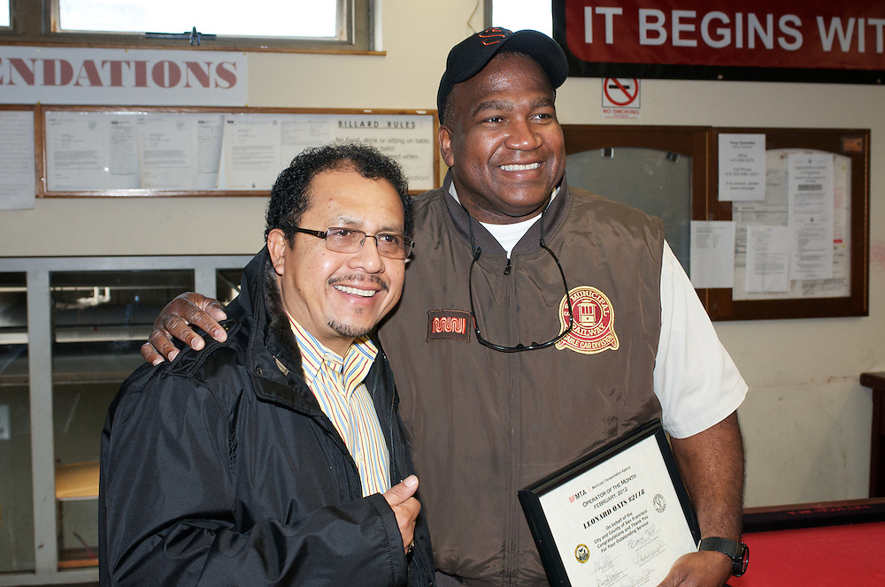 Cable Car Division Operator of the Month | Leonard Oats | Febraury 2012