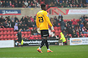 Coventry City goalkeeper Reice Charles-Cook during the Sky Bet League 1 match between Swindon Town and Coventry City at the County Ground, Swindon, England on 24 October 2015. Photo by Jemma Phillips.
