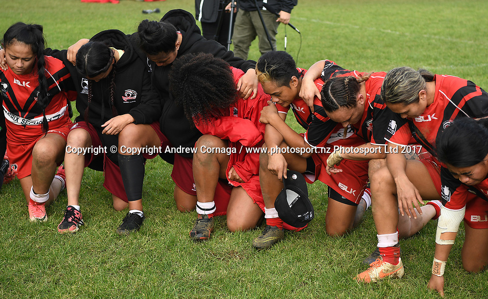 Akarana v Counties Manukau Grand Final. NZRL National Women's Tournament finals day, Cornwall Park Auckland. Monday 5 June 2019. © Copyright photo: Andrew Cornaga / www.photosport.nz