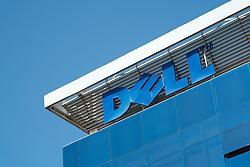 Detail of Dell office building in Dubai Internet City in United Arab Emirates UAE