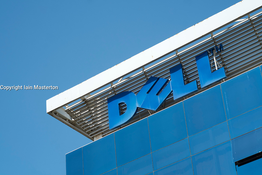 Detail of Dell office building in Dubai Internet City in United Arab Emirates UAE