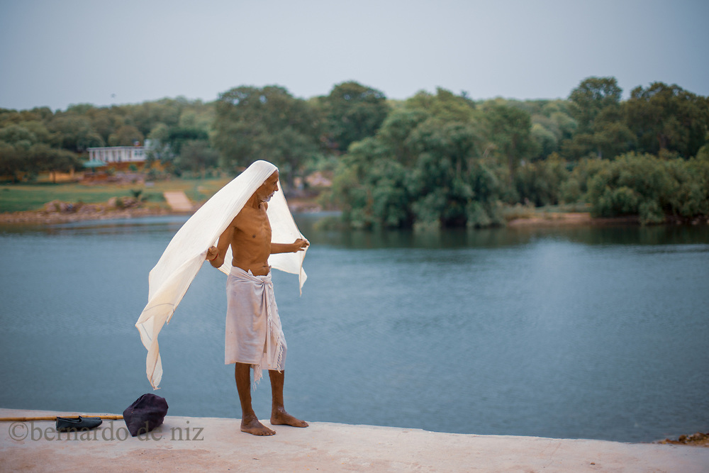 Traveling with Live learnt travel project to India & Nepal, Gange´s river in VaranassiJuly 4,  2014. Agra, India.. Photographer: Bernardo De Niz