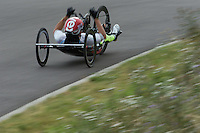 LONDON UK 29TH JULY 2016:  Rafal Wilk (POL). Prudential RideLondon Elite Handcycle Grand Prix at the London Velo Park. Prudential RideLondon in London 29th July 2016<br /> <br /> Photo: Jed Leicester/Silverhub for Prudential RideLondon<br /> <br /> Prudential RideLondon is the world&rsquo;s greatest festival of cycling, involving 95,000+ cyclists &ndash; from Olympic champions to a free family fun ride - riding in events over closed roads in London and Surrey over the weekend of 29th to 31st July 2016. <br /> <br /> See www.PrudentialRideLondon.co.uk for more.<br /> <br /> For further information: media@londonmarathonevents.co.uk