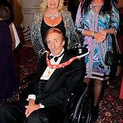 NLD/Noordwijk/20110924 - Kika Grand Gala 2011, Fra' Andrew W. N. Bertie 78ste Prins en Grand Master van de Order of Malta, en Maria Angelique Caruana en dochter
