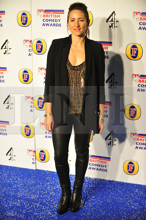 © Licensed to London News Pictures. 16/12/2011. London, England. K.T Tunstall attends the Channel 4 British Comedy Awards  in Wembley London .  Photo credit : ALAN ROXBOROUGH/LNP