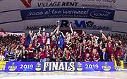Team Umana Reyer Venezia<br /> Umana Reyer Venezia - Banco di Sardegna Dinamo Sassari<br /> Legabasket LBA Serie A Postemobile 2018-2019 Finale Playoff Gara 7<br /> Sassari, 22/06/2019<br /> Foto L.Canu - Ciamillo-Castoria
