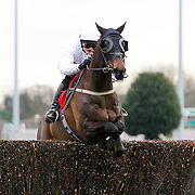 Nozic and Gemma Gracey-Davison winning the 2.15 race
