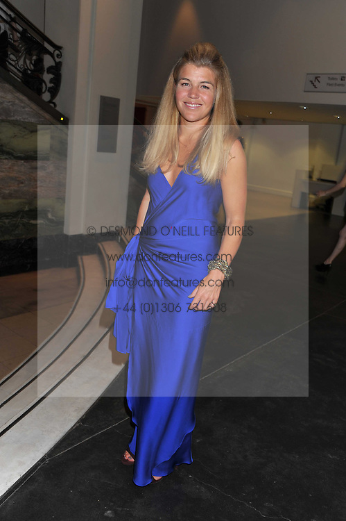 AMBER NUTTALL at The Global Party held at The Natural History Museum, Cromwell Road, London on 8th September 2011.