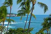 Surfing, Kailua-Kona, Island of Hawaii