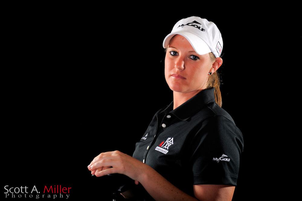 Lauren Hunt during a portrait shoot prior to the LPGA Future Tour's Daytona Beach Invitational at LPGA International's Championship Courser on March 28, 2011 in Daytona Beach, Florida... ©2011 Scott A. Miller