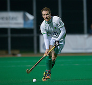 Canterbury's Ali Bray against Surbiton in the NOW: Pension Men's Hockey League Premier Division, Polo Farm, Canterbury, Kent, 22nd November 2014.
